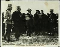 General Joffre & President Poincaré at the front