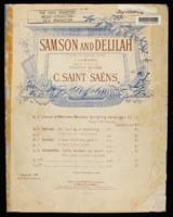Samson and Delilah : cantabile / Camille Saint - Saëns