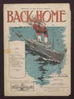 Back home / written and composed by Reg. A. A. Stoneham