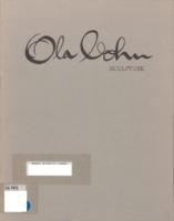 Ola Cohn 1892-1964 : sculpture