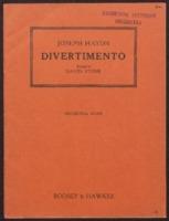 Divertimento / Joseph Haydn ; arranged by David Stone