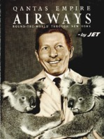 Qantas Empire Airways round-the-world through New York
