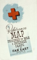 Reference map: prisoner of war & internee camps in the far east