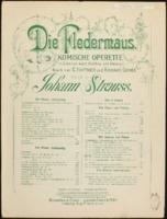 Mein Herr Marquis, ein Mann wie Sie / Johann Strauss