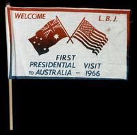 Welcome L.B.J.: first presidential visit to Australia - 1966