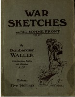 War sketches on the Somme front