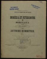 Romanze, op. 44, no. 1 / von Anton Rubinstein ; für Flöte und Pianoforte eingerichtet von Maximilian Schwedler