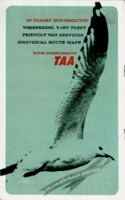 TAA in-flight information booklet