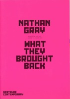 Nathan Gray : What they brought back