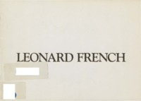 Leonard French : paintings 1987-1989