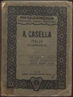 Italia : rhapsodie für grosses orchester : op. 11 / Alfredo Casella