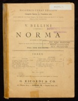Norma : an opera in two acts / Vincenzo Bellini