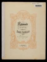 Entr-Actes und Balletmusik zum Drama Rosamunde / Franz Schubert