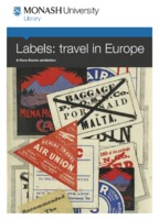 Labels: travel in Europe : a Rare Books exhibition 14 September 2012 - 28 February 2013