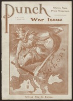Punch : War issue, August 6, 1914