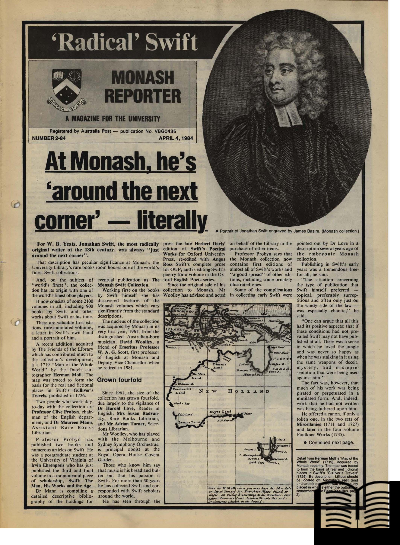 Monash Reporter image