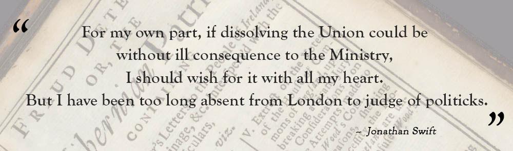 Jonathan Swift's letter
