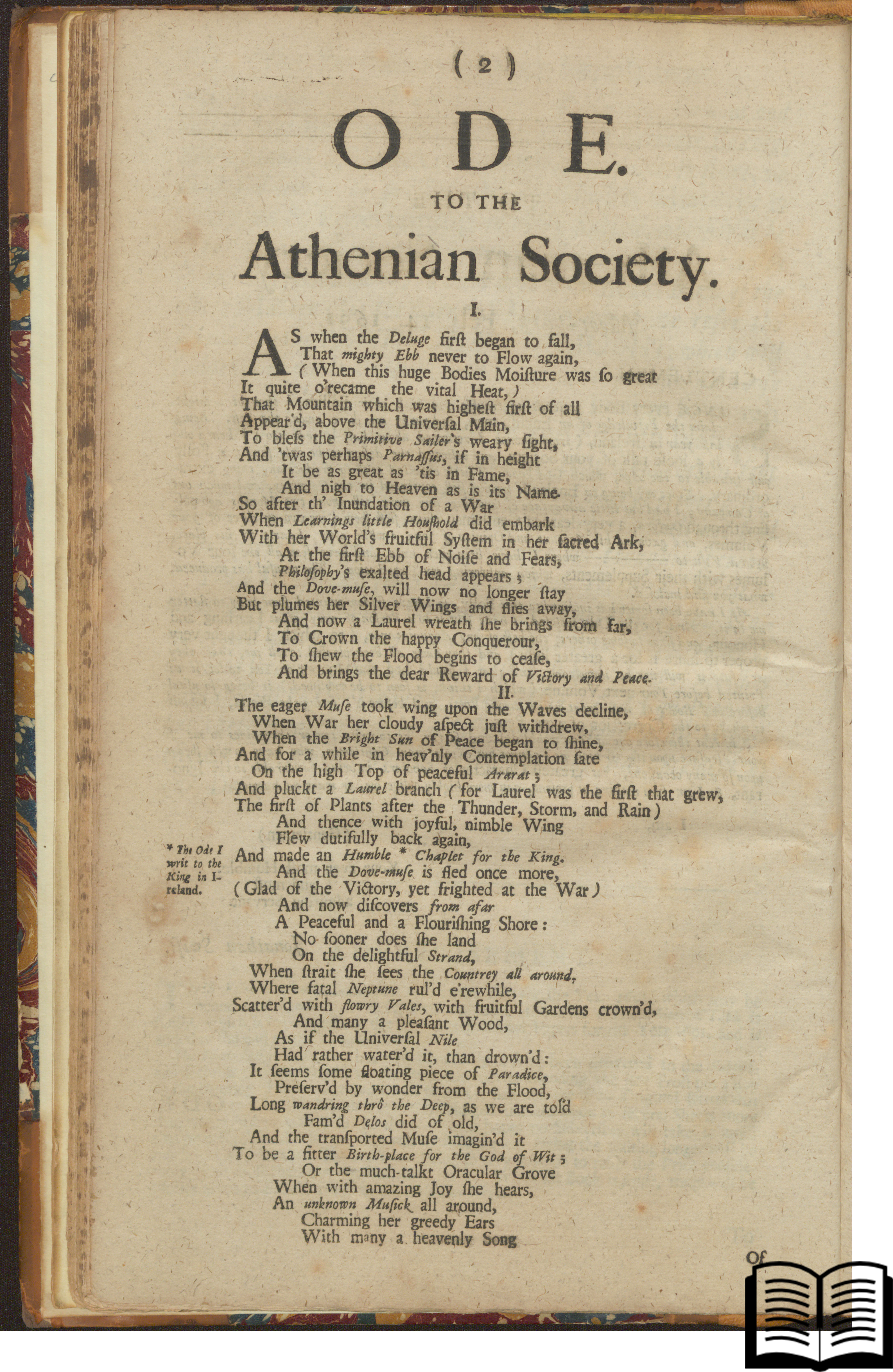Ode to the Athenian Society
