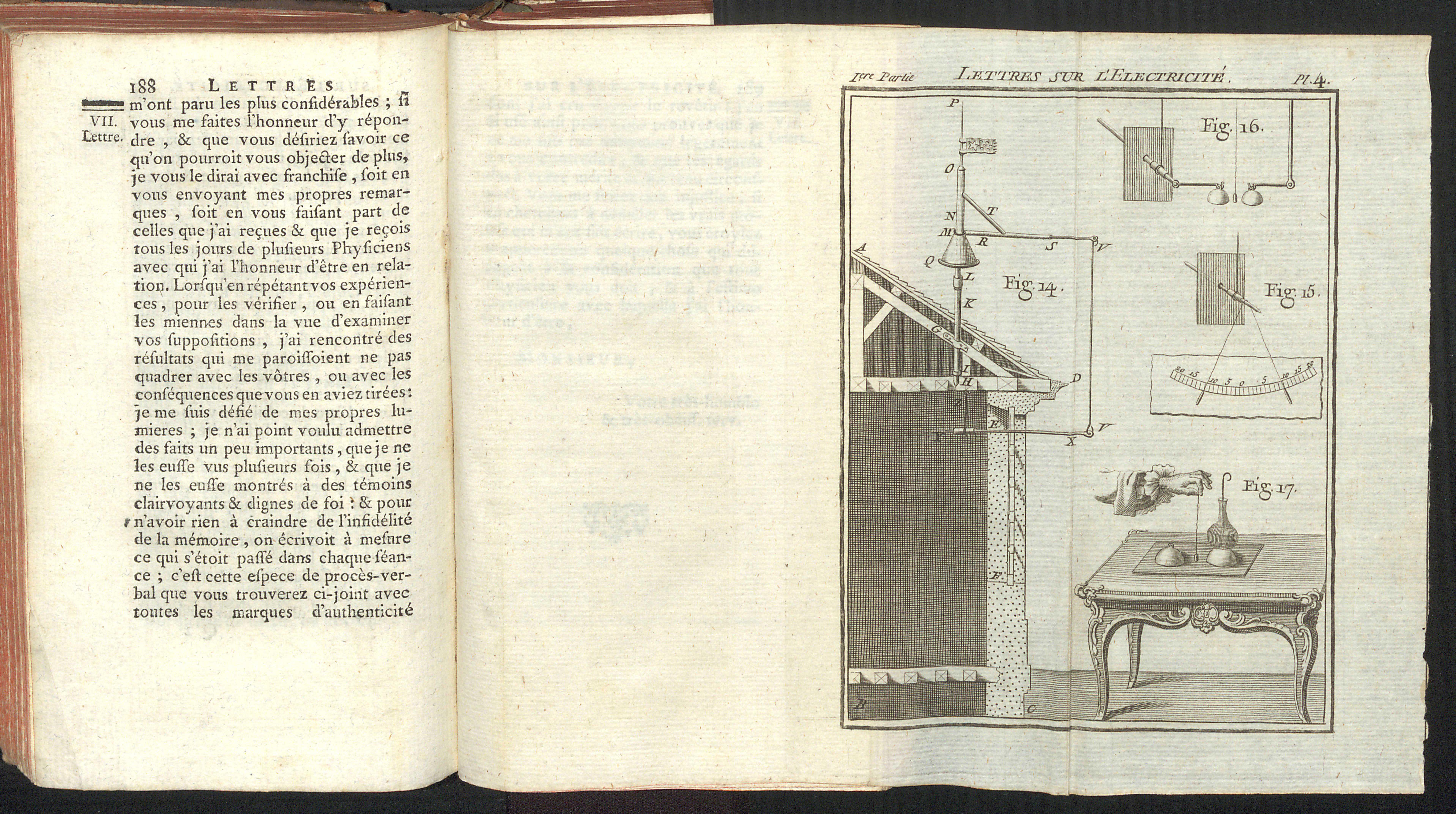 Abbé Jean Antoine Nollet's Lettres sur L'Electricité