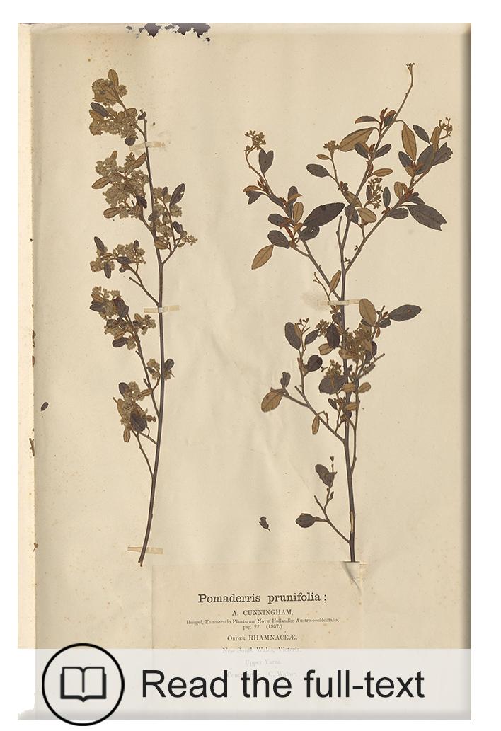 Ferdinand von Mueller's Educational collections of Australian plants